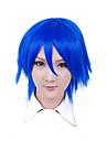Peruci de Cosplay Cosplay Cosplay Albastru Short Anime Peruci de Cosplay 30 CM Fibră Rezistentă la Căldură Bărbătesc / Feminin