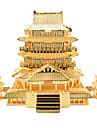 Puzzle 3D Puzzle Puzzle Metal Jucarii Arhitectura Chineză 3D Articole de mobilier Bucăți