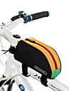 ROSWHEEL® Sac de Velo 1LSac de cadre de velo Zip etanche Resistant a l\'humidite Resistant aux Chocs Vestimentaire Sac de CyclismePVC