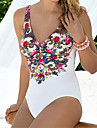Femei O Piesă Femei Bustieră Floral Polyester