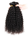 Cheveux Indiens Kinky Curly Afro Tissages de cheveux humains 3 Pieces Grosses soldes