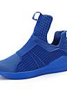 Bărbați Adidași de Atletism Confortabili Tul Primăvară Vară De Atletism Casual Basket Confortabili Toc Plat Negru Rosu Albastru Plat