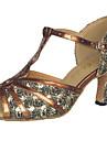 Femei personalizate lui spumante / Glitter Upper Ballroom Salsa dans latin pantofi