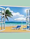 Peisaj Perete Postituri Autocolante perete plane Autocolante de Perete Decorative,PVC Material Detașabil Pagina de decorarede perete