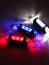 cykel glödljus LED Cykelsport Med batteri Justerbar Med USB-laddareuttag Enkel att sätta på Uppladdningsbart Batteri 80 Lumen Inbyggd