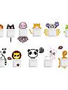 Animaux Stickers muraux Autocollants muraux animaux Autocollants d\'interrupteurs, Vinyle Decoration d\'interieur Calque Mural Mur