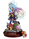 Anime Action Figures Inspired by No Game No Life Shiro PVC(PolyVinyl Chloride) 20 cm CM Model Toys Doll Toy