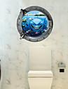 Autocolante de Perete Decorative - 3D Acțibilduri de Perete #D Sufragerie / Dormitor / Baie / Detașabil