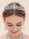 Yapay Elmas / alaşım  -  Tiaras 1 Düğün Başlık