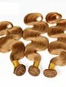 Brasilianskt hår Kroppsvågor Hårförlängning av äkta hår Human Hår vävar Dam Dagligen