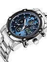 ASJ Bărbați Ceas La Modă Ceas de Mână Ceas Sport Ceas digital Ceas Elegant  Japoneză Quartz Piloane de Menținut Carnea Cronograf