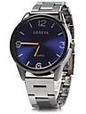 Homens Relógio Elegante Relógio de Pulso Quartzo Azul / Prata / Analógico Clássico Casual - Marron Vermelho Azul