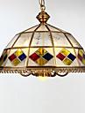 Tiffany Traditionell/Klassisk Retro Ministil Hängande lampor Fluorescerande Till Vardagsrum Sovrum Matsalsrum Studierum/Kontor Barnrum
