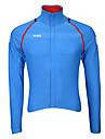 Sportif Velo/Cyclisme Hauts/Tops Homme Manches longues Respirable / Vestimentaire / Pare-vent / Garder au chaud / Tissu Ultra Leger