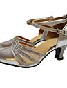 Femme Chaussures Modernes / Salon Paillettes / Synthétique / Satin Talon / Sandale / Basket Fleur en Satin / Paillette Brillante / Boucle