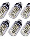 10W E14 E12 E26/E27 Becuri LED Corn T 100 led-uri SMD 5736 Decorativ Alb Cald Alb Rece 800-850lm 3000/6000K AC 85-265 AC 220-240 AC 110 -