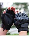 Kort finger Läder Läder motorcyklar Handskar
