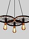 Rustik/Stuga Vintage Ministil Ljuskronor Fluorescerande Till Vardagsrum Sovrum Matsalsrum Studierum/Kontor Barnrum Korridor 110-120V