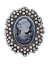 Pentru femei Broșe - Cristal Vintage Broșă Argintiu Pentru Petrecere / Zilnic / Casual