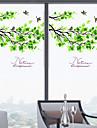 Copaci/Frunze Contemporan Geam Film, PVC a vinyl Material fereastra de decorare Sufragerie Dormitor Birou Cameră Copii Living Camera de