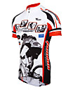 TASDAN Homme Manches Courtes Maillot de Cyclisme Velo Maillot, Sechage rapide, Respirable, Anti-transpiration