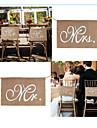 Jute Material Ecologic Decoratiuni nunta-2Piece / Set Primăvară Vară Toamnă Iarnă NepersonalizatEste un ajutor bun pentru nunta ta dacă