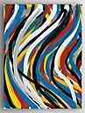 Pictat manual Abstract Vertical, Modern pânză Hang-pictate pictură în ulei Pagina de decorare Un Panou