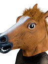 Tête de Cheval Masques d'Halloween Pour Halloween Masque d'Animal Jouets d'Halloween Farces et Attrapes Jouets Tête de Cheval Caoutchouc