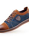 Bărbați Pantofi Piele Primăvară Vară Toamnă Iarnă Confortabili Oxfords Dantelă Pentru Casual Gri Maro