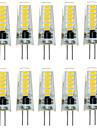 2W 200-300 lm G4 Becuri LED Bi-pin T 12 led-uri SMD 5733 Rezistent la apă Decorativ Alb Cald Alb Rece DC 12V