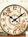 Modern/Contemporan / Tradițional / Retro / Birou / Afacere Case / Familie / Școală/Absolvire Ceas de perete,Rotund Hârtie / Altele