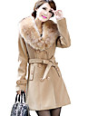 Women\'s Classic & Timeless Coat-Solid Color,Formal Style