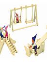 Ξύλινα παζλ Κινεζική αρχιτεκτονική Παιδική χαρά επαγγελματικό Επίπεδο Ξύλινος 1pcs Παιδικά Αγορίστικα Δώρο