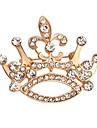 Bărbați Dame Broșe La modă Cristal Bijuterii Pentru Nuntă Petrecere Ocazie specială Zi de Naștere Zilnic Casual