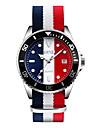 SKMEI Bărbați Ceas de Mână Calendar / Rezistent la Apă / Ceas Casual Material Bandă Lux / Casual / Modă Alb / Albastru / Roșu