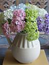 Flori artificiale 3 ramură Stil modern Hydrangeas Față de masă flori