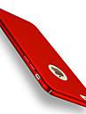 Pentru iPhone 8 iPhone 8 Plus iPhone 7 iPhone 6 Carcasă iPhone 5 Carcase Huse Placare Carcasă Spate Maska Culoare solidă Greu PC pentru