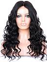 Remy-hår Spetsfront Peruk Vågigt 130% 150% 180% Densitet 100 % handbundet Afro-amerikansk peruk Naturlig hårlinje Korta Mellan Lång Dam