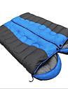 Sac de couchage Double Double -5-15 Coton creux Garder au chaud Resistant a l\'humidite Etanche Portable Pare-vent Resistant a la