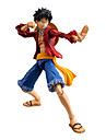 Figures Anime Action Inspire par One Piece Monkey D. Luffy Anime Accessoires de Cosplay figure Rouge PVC