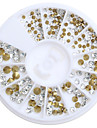 200pcs/Box Nail Art Decoration Strass Pearls makeup Kosmetisk Nail Art Design