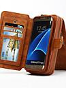 multi-funcțional amovibil caz portabil veritabil portofel din piele pentru Samsung Galaxy S8 s4 s5 s6 margine plus margine s7