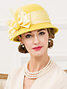 Femei Pană Ștras Lână Material Textil Diadema-Nuntă Ocazie specială Informal Pălărioare Pălării/Căciuli 1 Bucată