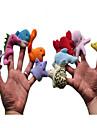 Fingerdockor Gosedjur Uppstoppade leksaker Leksaker Dinosaurie Originella Plysh Flickor Pojkar Bitar