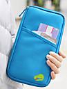 Reseplånbok Pass- och ID-hållare Säkerhetsficka för kreditkort Reseplånbok med passficka Vattentät Bärbar Damm säker Multifunktion
