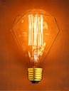 1 buc 40W E26/E27 G95 2300 K Incandescent Vintage Edison bec AC 220V AC 220-240V V