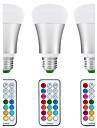 8.5W E26/E27 Bulb LED Glob A80 1 COB 880 lm Alb Natural RGB K Senzor Senzor cu Infraroșii Rezistent la apă Intensitate Luminoasă