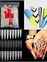 Manucure Bouts  pour ongles entiers Classique Haute qualite Quotidien