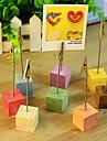 Culoarea Lemnului Tabelul Center Pieces-Nepersonalizat Suporturi carduri loc 8 Piece / Set