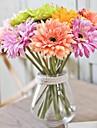 5 ramuri african crizantema flori artificiale decoratiuni interioare